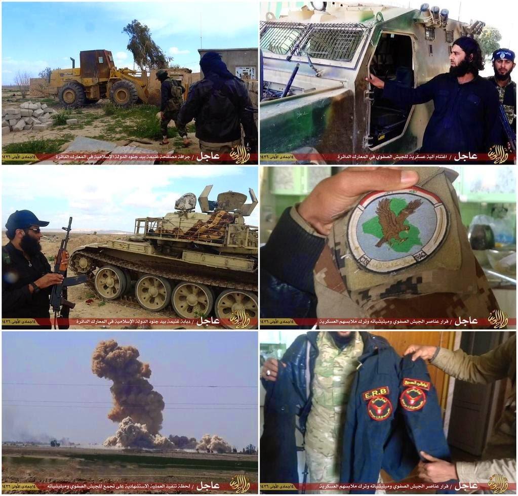 Conflcito interno en Irak - Página 2 ISIS%2Bshows%2Barmy%2Bequipment%2Band%2Buniforms%2Bthat%2Bwere
