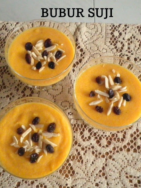 Bubur Suji Recipe @ http://treatntrick.blogspot.com