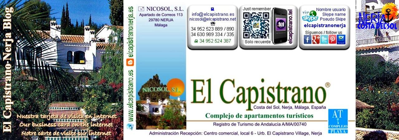 El Capistrano - Puede escanear con la cámara de su dispositivo móvil el código BIDI o QR code de nuestra tarjeta de visita virtual - Nicosol, SL.