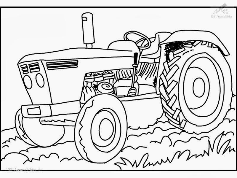 Malvorlagen Kostenlos Traktor - Malvorlagen Gratis Traktor - AZ Ausmalbilder