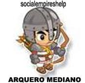 imagen del arquero mediano de social empires