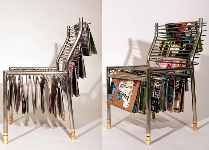 Magazine Hanger Chair Ideas