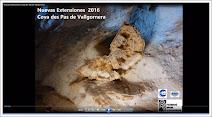 Nuevas extensiones Cova des Pas de Vallgornera