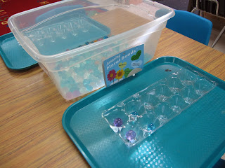 sorting fine motor preschoiol activity