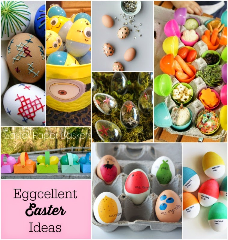 Eggcellent Ideas DIY Easter egg crafts