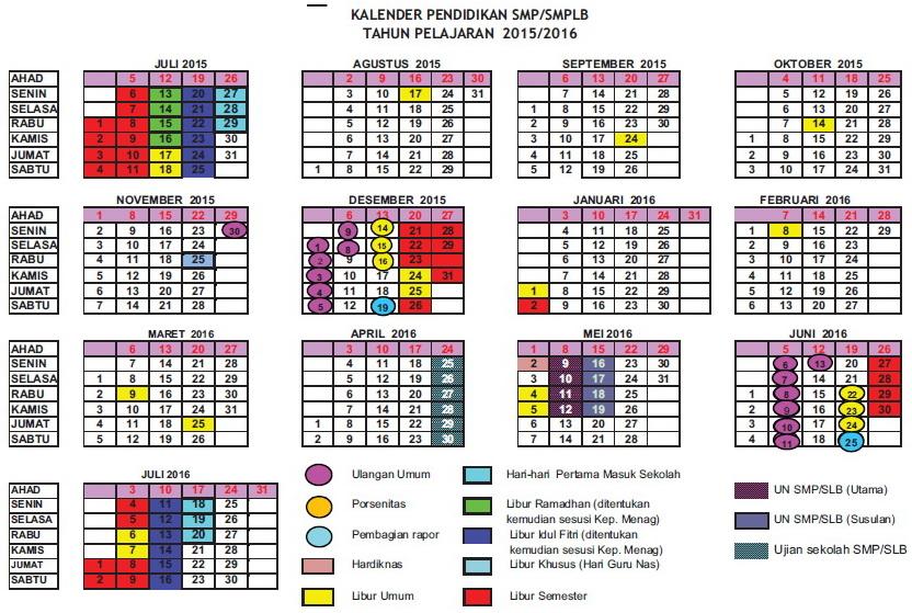Kalender Pendidikan 2016 Diy Kalender Pendidikan Provinsi Diy Daerah Istimewa Yogyakarta Ruang