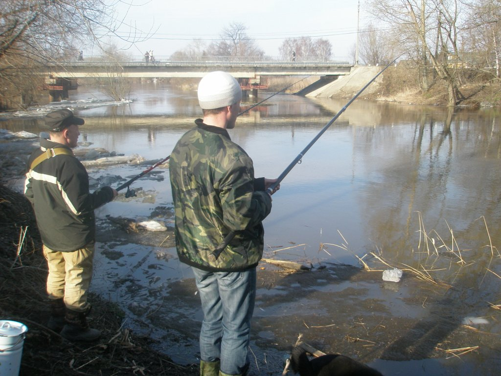 на что ловить на реке сара
