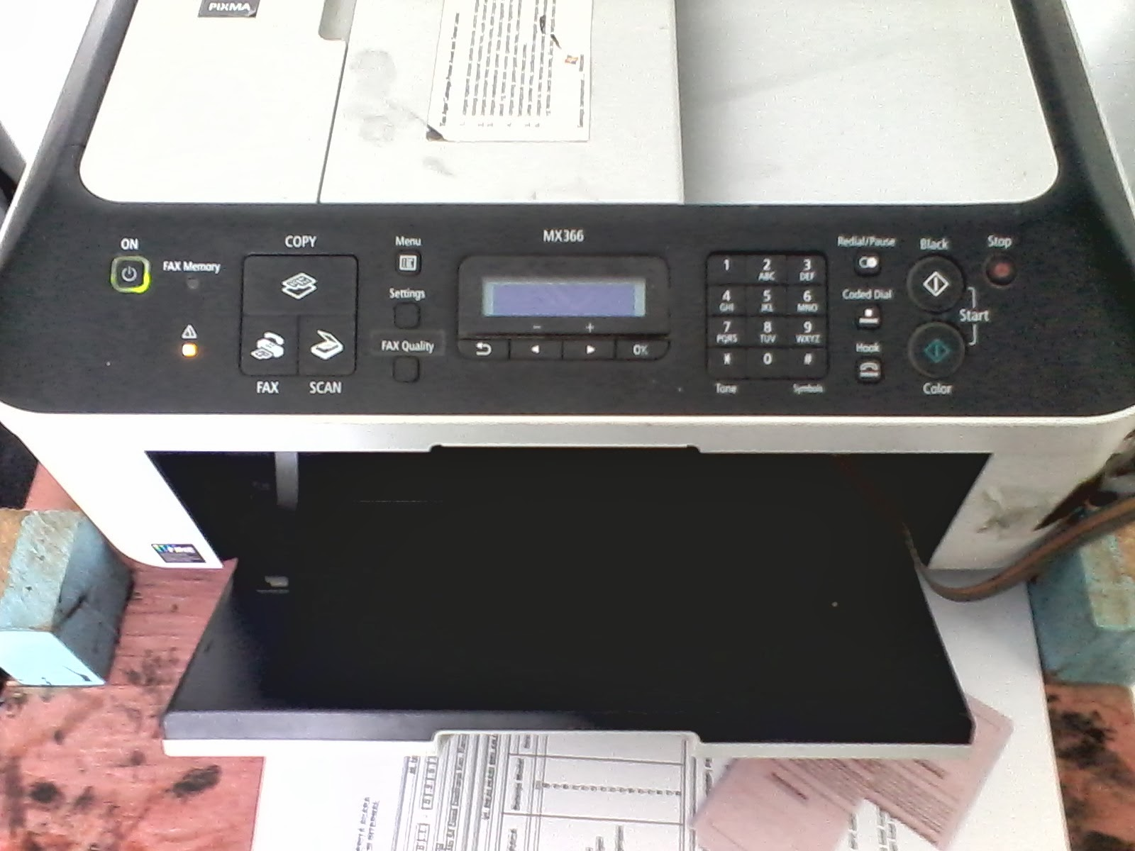 Cara Mengatasi Error 5b00 Printer Canon MX 366