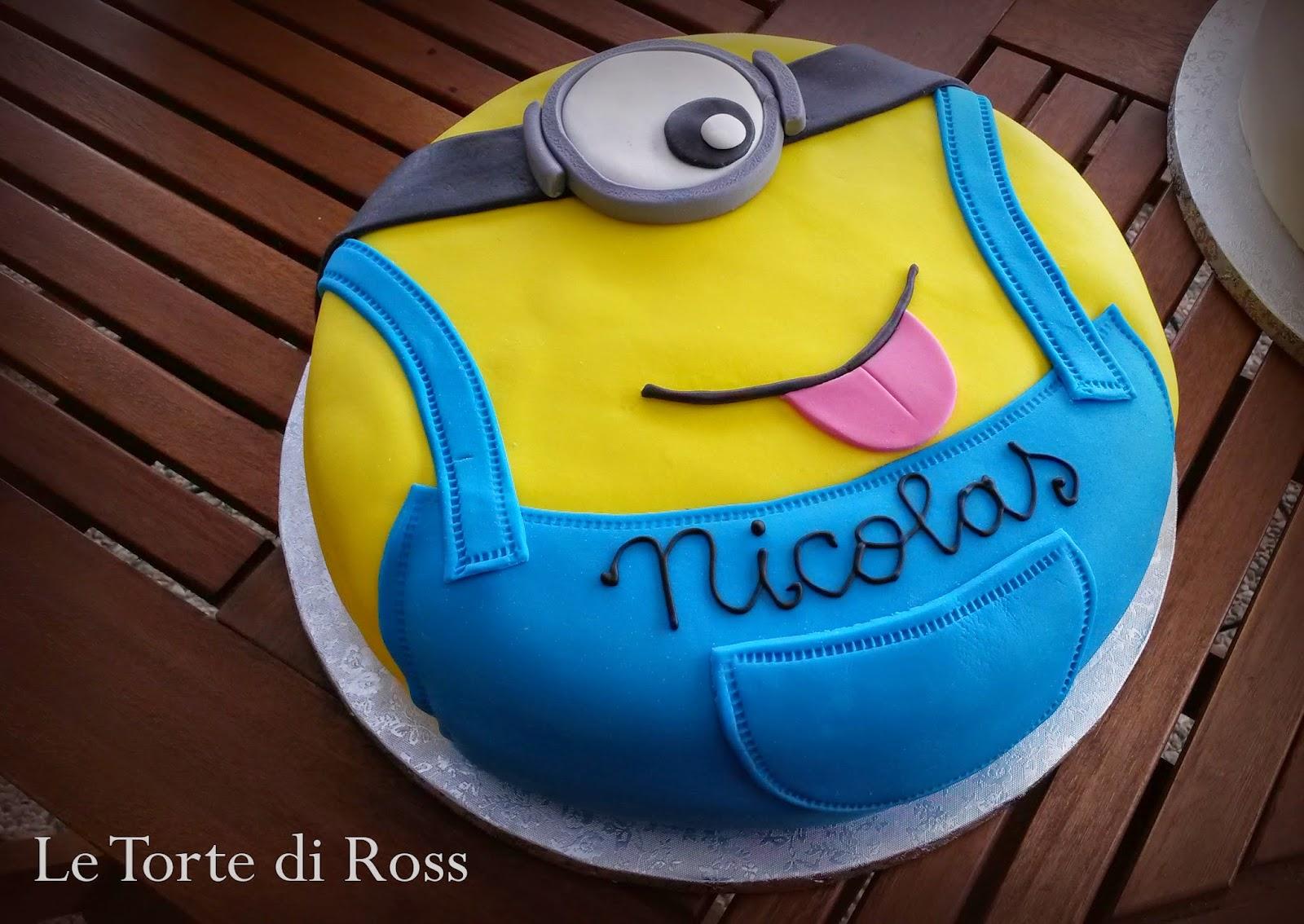 """Fabuleux Le Torte di Ross: Nicolas versione""""Minion"""" LT91"""