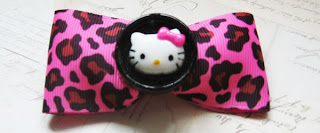 Hello Kitty hair bow accessory