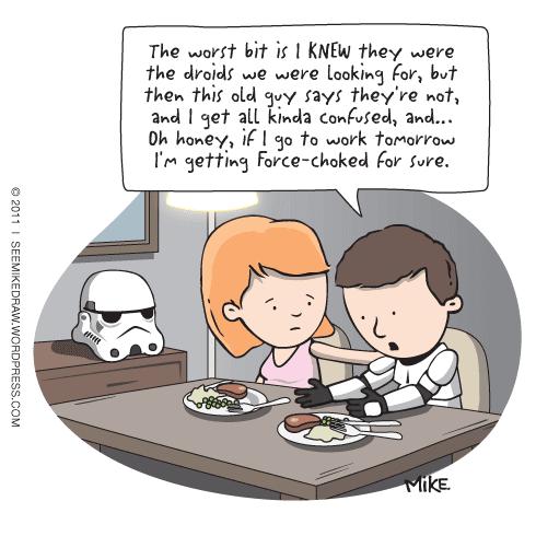 Funny star wars droids