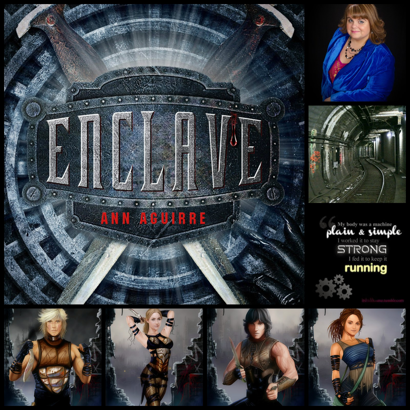 "Readers of the Round Table Read ""Enclave"" for September 25, 2014"