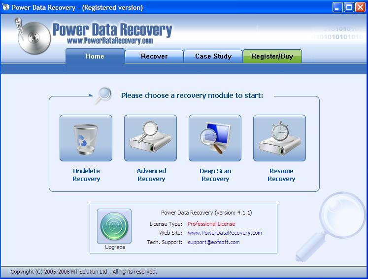 data download free recovery software: