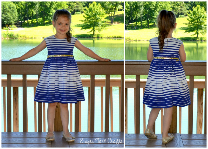 Caroline Party Dress: Pattern by Mouse House Creations, sewn by Sugar Tart Crafts