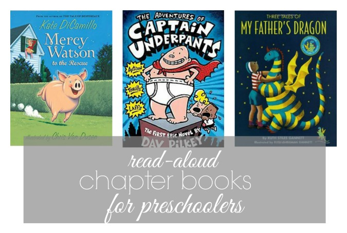 chapter book ideas to read aloud to rpeschoolers
