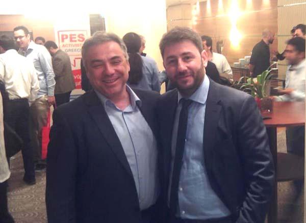 Στην σύνοδο νέων Ευρωπαίων Σοσιαλδημοκρατών ευρωβουλευτών ο Κοσμάς Βαρσάμης
