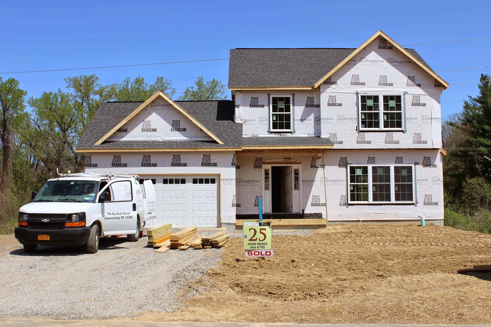 Hodorowski homes production highlights mechanical walk for Production home builders