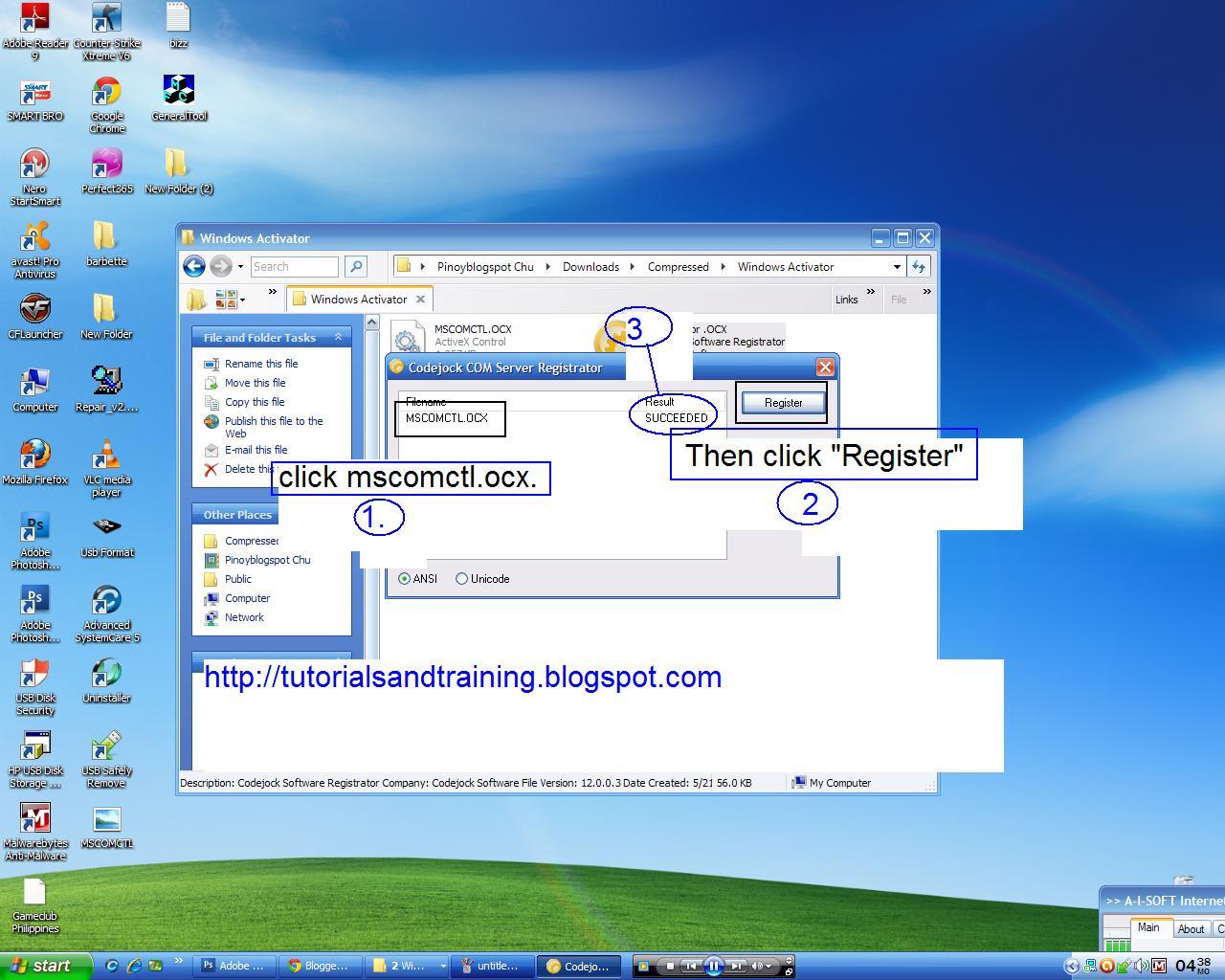 Mscomctl.Ocx Windows 7