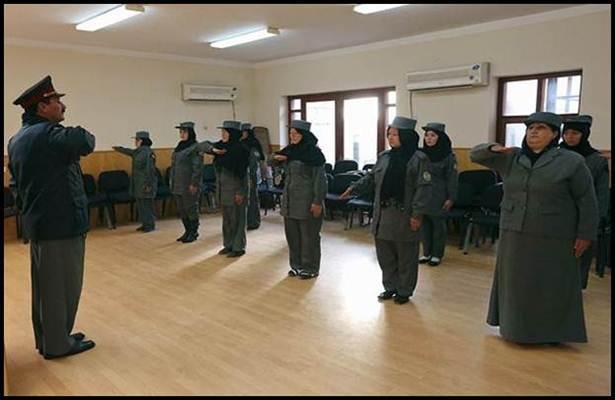 akademi polis wanita di afghanistan