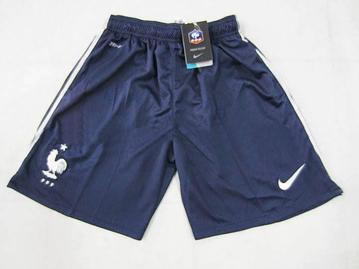 Shorts france away jersey 2014 - Grosir Celana Grade Ori Nike