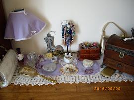 Toaletka vintage