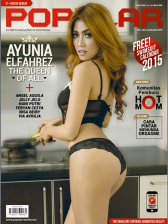 Download Majalah Popular-World No. 324 - Januari 2015 Ayunia Elfahrez, The Queen Of All | Ayunia Elfahrez, Angel Aquila, Jelly Jelo, Hani Putri, Febyan Cezya, Nisa Beiby, Via Avrilia | www.insight-zone.com