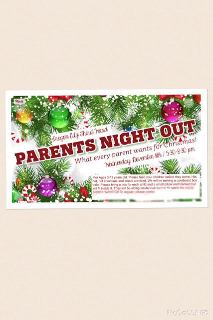 Polar Express Pj Party And Parents Night Out Making Life Fun