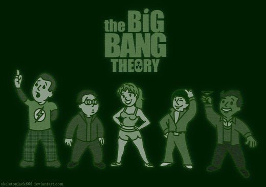 The Big Vault Theory - pipboy por SkeletonJack666
