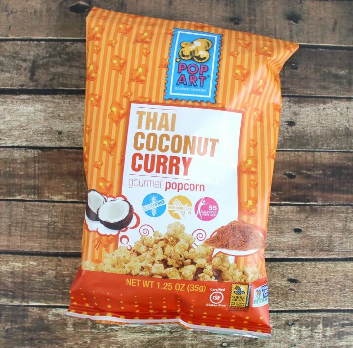 Pop Art Thai Coconut Curry Popcorn (1.25oz single serve bag)