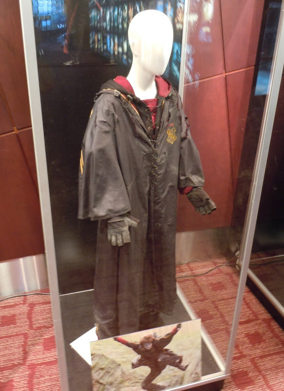 Daniel Radcliffe Harry Potter Quidditch costume