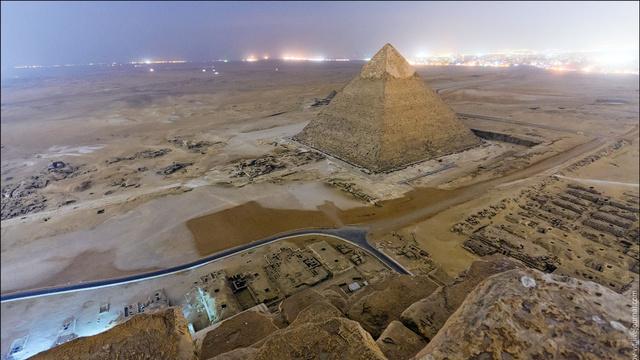 Οι μυστικές αποστολές στις πυραμίδες της Νεκρόπολης της Γκίζας (vid)