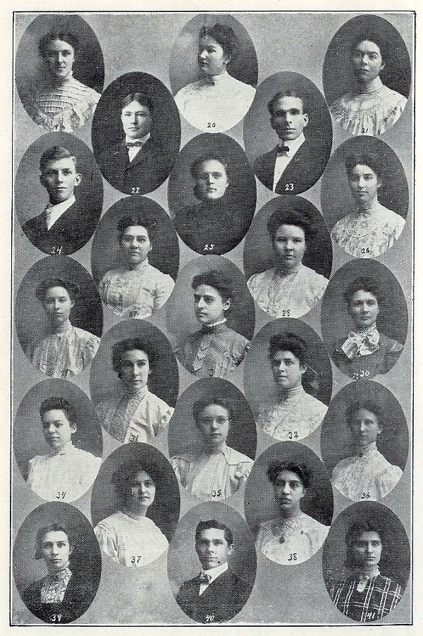 1906 yearbook class photo
