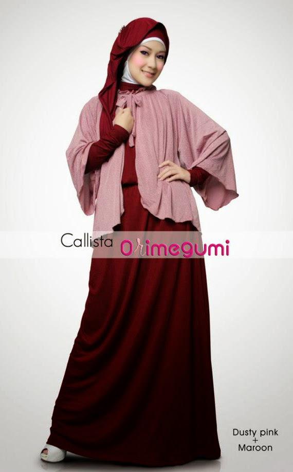 Contoh Model Baju Hamil Muslim Modis Modern Terbaru 2015