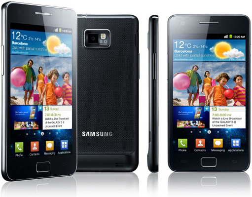 samsung galaxy  s ii 2 i9100