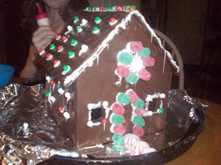 Edible Chocolate House