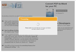 file PDF ke microsoft word tanpa sofware  #2 Cara Cepat Convert File PDF ke Word tanpa Software