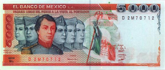 Monedas de México y el Mundo