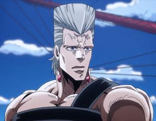 Jean Pierre Polnareff (JoJo's Bizarre Adventure) Rambut Anime Fantastis