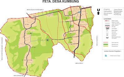 Peta Desa Kumbung