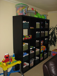 Delicious Spaces Toy Storage Solutions