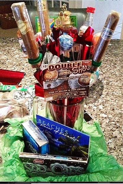 man bouquet DIY