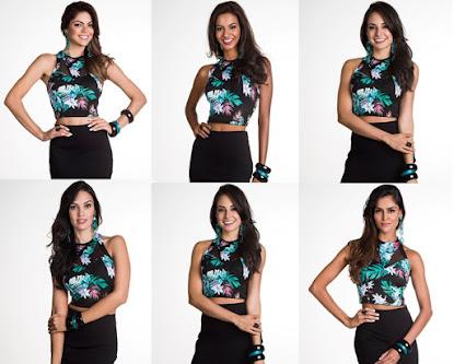 Todas as candidatas ao concurso Miss Brasil