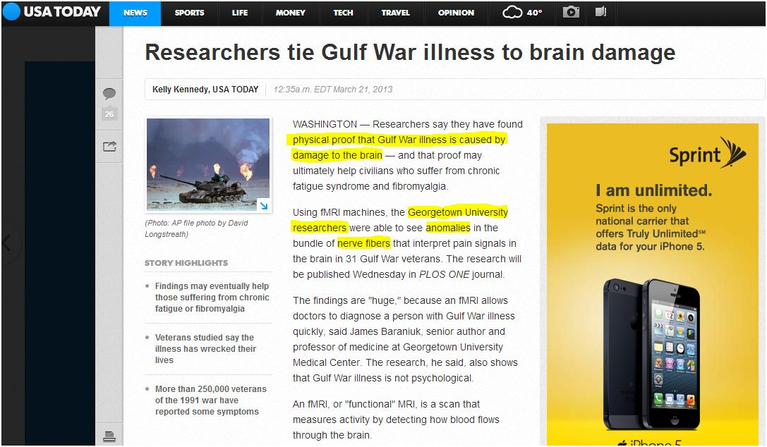 the causes of the mysterious gulf war illness Public health menu menu public health  diseases related to gulf war,  an illness that primarily affects the lungs and causes symptoms such as chest pain,.