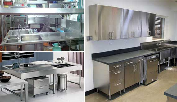 Fabrikasi Stainless Steel Fabricasi Kitcen Set