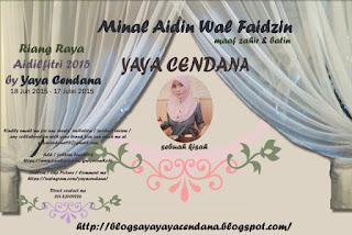 Riang Raya Aidilfitri 2015 by Yaya Cendana