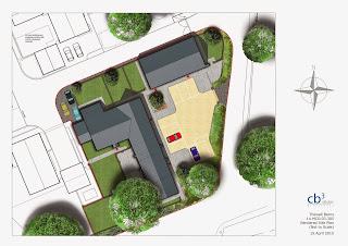 Barn Conversion Site Plan