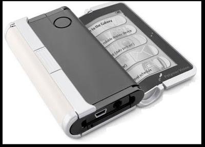 интересное устройство для чтения электронных книжек