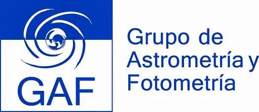 Grupo de Astrometría y Fotometría (GAF) del Observatorio Astronómico Córdoba