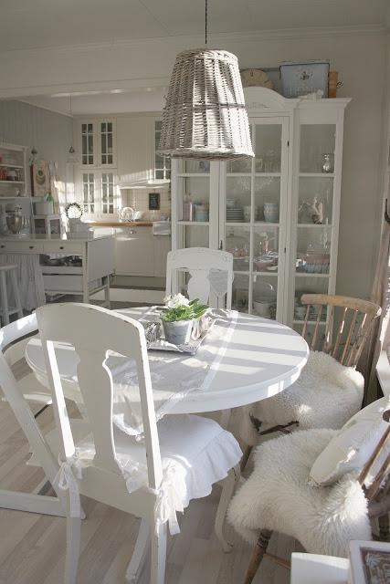 Cucine Country cucine country chic ikea : Shabby Chic Con Amore - Casa Shabby Chic.: Cucina tutta bianca ...