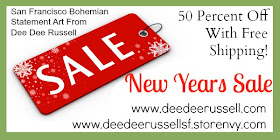 New Years Sale! Own A Piece Of Dee Dee Russell Mixed Media Arts
